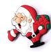 圣诞节卡通冰箱贴热销布朗熊冰箱贴饰品直销可印logo