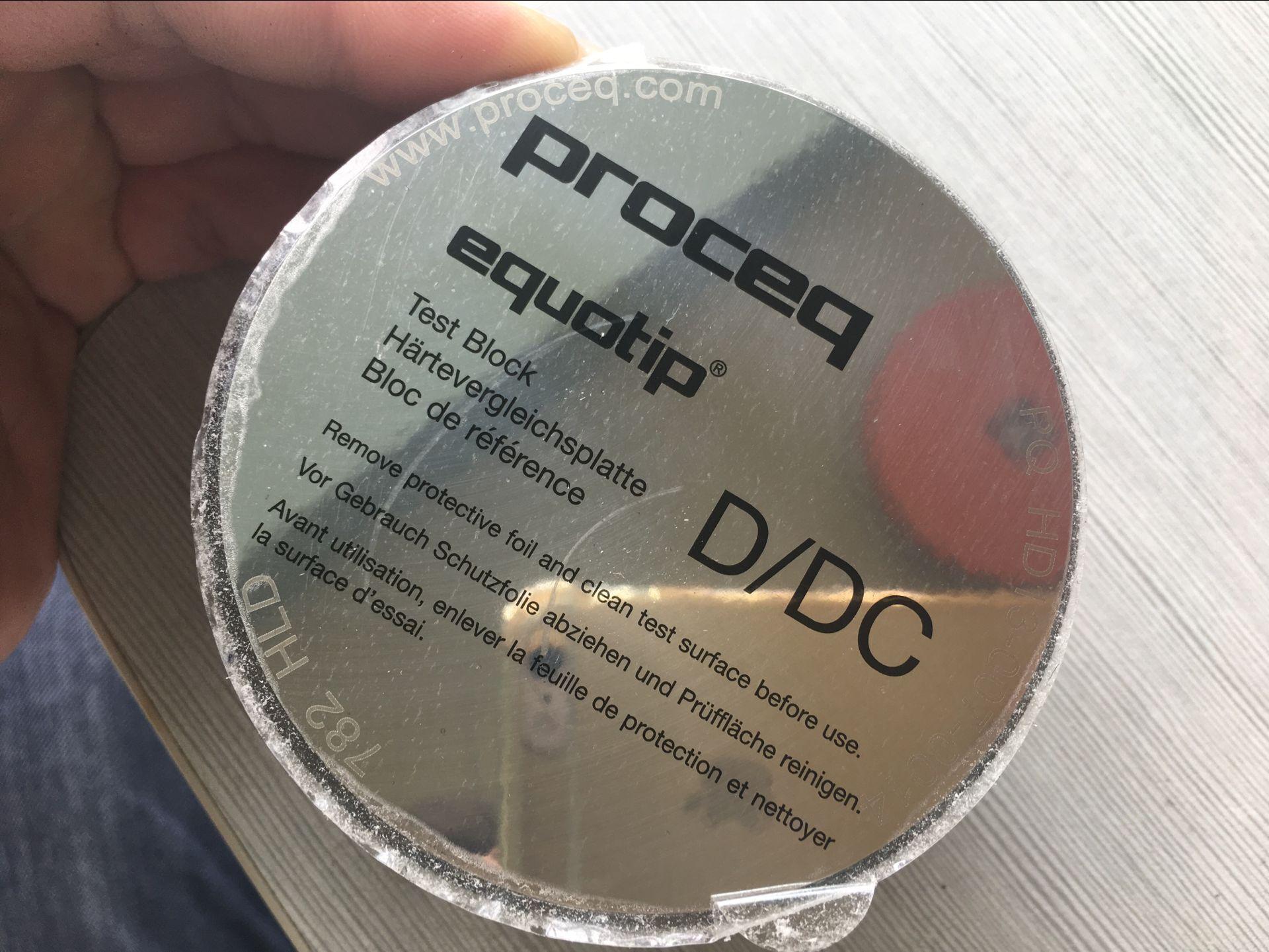 瑞士Proceq标准硬度试块系列