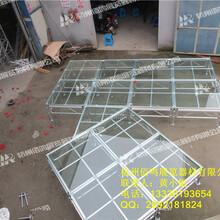 铝合金玻璃舞台婚庆玻璃舞台
