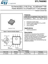 原装ST品牌MOS管STL7N60M2现货发售图片