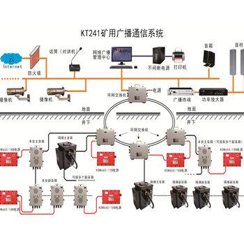 矿山应急广播系统_数字广播系统