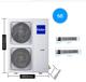 天津海尔中央空调俩室一厅一拖二5匹家用嵌入式变频风管机