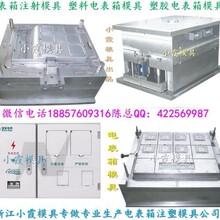 注塑模具工厂,单相九电表箱注塑模具产品注射表面处理一条龙