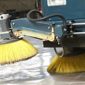 陕西榆林普森电动驾驶式全封闭扫地车PS-J1860CF扫地机