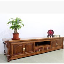 红森堂客厅家具刺猬紫檀花梨木地柜国标红木四季花电视柜