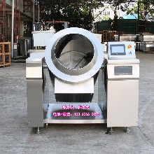 滚筒炒锅厂家智能商用炒菜机,全自动炒饭机、自动炒面机