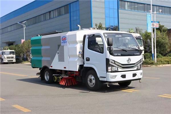 东风10吨干洗扫车