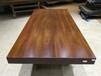 非洲红花梨大板桌实木大班台巴花黄花梨鸡翅木柚木大板