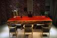 很大气的红花梨大板桌哪里有卖天然整体脚大板桌花梨木实木原木大板桌