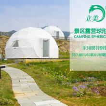 半圆形景区酒店篷房球形农庄特色酒店帐篷