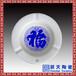 高档骨瓷烟灰感LOGO加字陶瓷烟灰缸