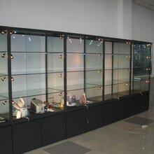 西安全新玻璃展示柜化妆品展示柜珠宝展示柜厂家现货供应图片