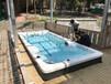 2021年新私家別墅花園無邊際泳池,浙江東陽泳池廠家