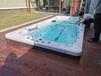 供應陜西榆林私家別墅花園無邊際泳池、恒溫游泳池2021