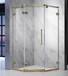 酒店簡易淋浴房廠家直銷賓館簡易沐浴房不銹鋼鋼化玻璃隔斷