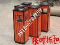 绵阳市环卫木条垃圾箱、果皮箱品牌厂家图片