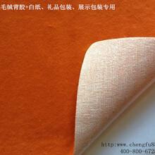丞夫15年厂家P布底绒布背胶粘性强图片