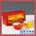 青花瓷寿碗礼品新颖回礼寿碗套装寿星抱桃寿碗礼品