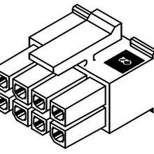 莫仕Molex2PIN黑色胶壳43025-0200上海特价供应