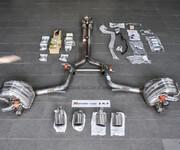 保时捷panamera改装三阀门运动排气管套件图片