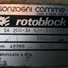 供應SONZOGNICAMME減速箱SA200-3A圖片