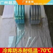 广州防冻耐寒PVC软门帘冷冻库胶门帘耐低温-60℃防寒门帘厂家图片