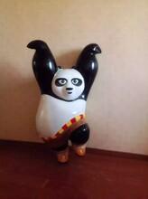 云南活动策划玻璃钢功夫熊猫模型出租出售展览图片
