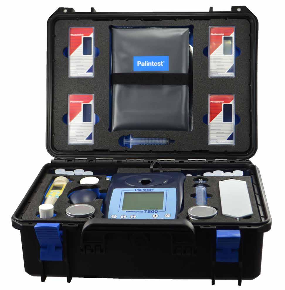 百灵达Palintest7500型多参数水质分析仪实验室多参数测量仪