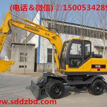 轮胎式挖掘机厂家直销轮式抓木机BD95W-9图片