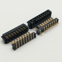 廠家直銷2.5間距刀片式3/4/5/6/7/8/9/10PIN鋰電池接插件電池連接器圖片