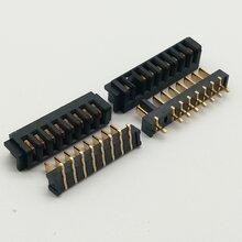 厂家直销2.5间距刀片式3/4/5/6/7/8/9/10PIN锂电池接插件电池连接器