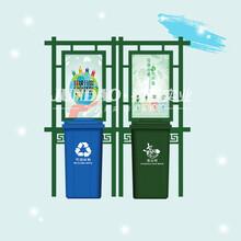 珠海垃圾分類亭-分類亭,垃圾分類亭生產廠家圖片