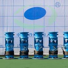 应急排涝临时排水中吸式潜水轴流泵找天津中蓝