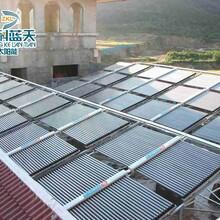 烟台太阳能热水器酒店用工程联箱太阳能吨位工程
