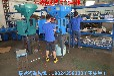 瑞达塑胶机械展销会激情筹备中自主研发称重式拌料机