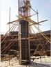 西安圓柱模板,長安寺廟圓模板施工,陜西大明宮圓柱木模板案例鑒賞
