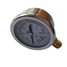 掘进机压力表矿山设备掘进机上用充油压力表高压耐震压力表YTN-60图片