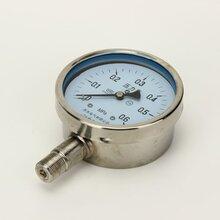 不锈钢压力表316L材质防腐耐高温压力表Y-100BF图片