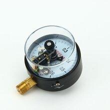 電接點壓力表廠家批發YX100觸頭壓力表0.6MPa現貨供應圖片