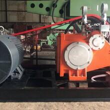 供应天津沃特高压泵GZB一90E柱塞泵高压旋喷桩工程图片