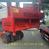 北京騰疆電力工程無錫工地鋼管調直機一小時刷多少噸架子管