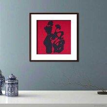土家织锦壁毯壁挂,西兰卡普装饰画