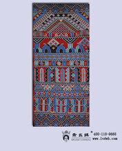 乖幺妹土家织锦西兰卡普传统斜纹壁挂楼桥花挂毯