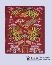 乖幺妹土家织锦西兰卡普传统斜纹壁挂龙凤呈祥挂毯