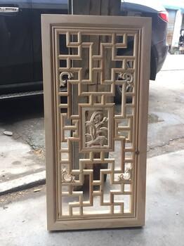 实木雕花板福运古色古香csqz全实木手工雕刻