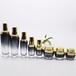 化妝品瓶噴涂廠,玻璃瓶噴涂廠,瓶子高低溫絲印燙金廠