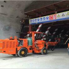 江西拓山矿机DWE1-31N轮胎掘进台车隧道凿岩台车价格
