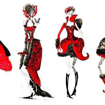 上海服装设计就业班、勇往直前超越自我