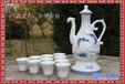景德镇家用仿古创意礼品自动酒壶酒杯套件古典中式白酒酒具套装