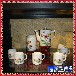 乱世佳人欧式骨瓷咖啡杯咖啡具陶瓷套装下午茶茶具咖啡具带架
